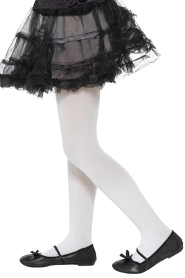 Opaque Tights, Childs White
