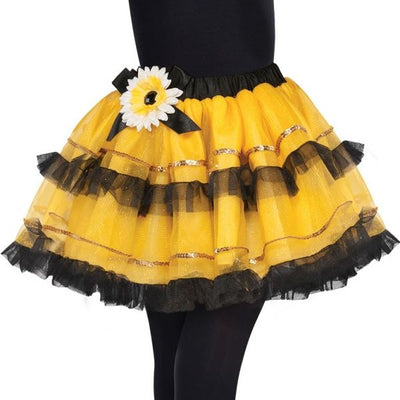 Girls Bumble Bee Fairy Tutu