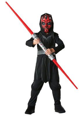Darth Maul Star Wars Disney Teen Boy's Fancy Dress