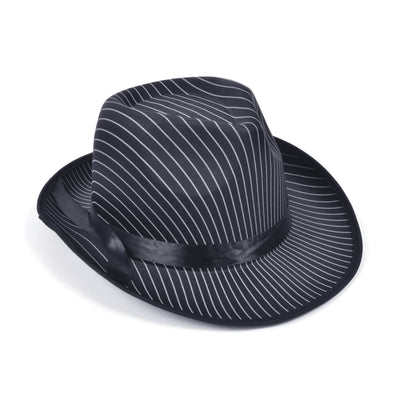 Gangster Hat. Pin Stripe
