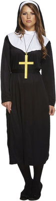 Nun Women's Fancy Dress Costume