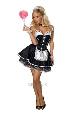 Sexy Maid Fancy Dress Costume