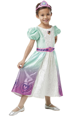 Nella Deluxe Princess Girl's Fancy Dress Costume