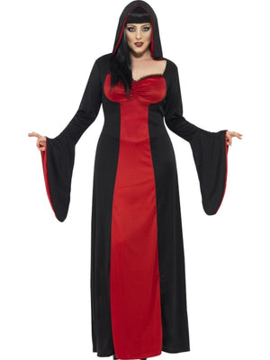 Ladies Plus Size Dark Temptress Costume