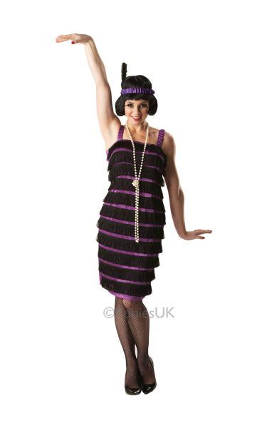Popular Price Flapper Dress Fancy Dress Costume