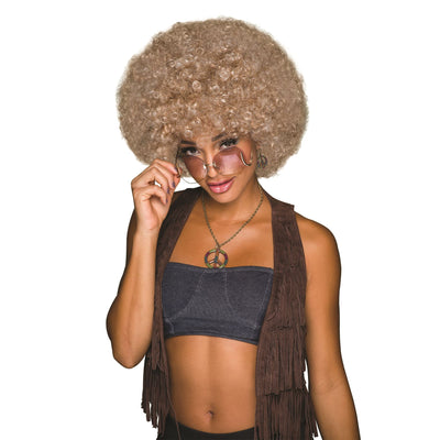 70s Afro Blonde/Brown