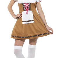 Bavarian Beer Maid Women's Fancy Dress Costume