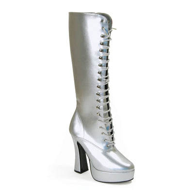 Sexy Lace Silver Boots. Ladies (S)