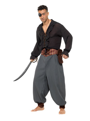 Pirate Blouson Pants Trousers Men's Fancy Dress