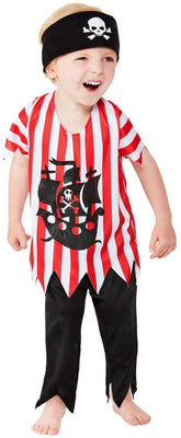 Jolly Pirate Toddler Boy's Costume