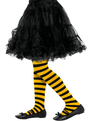 Bee Stripe Tights, Childs