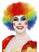 Crazy Clown Wig Rainbow
