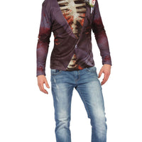 Men's Zombie Bridegroom 3D Print Shirt