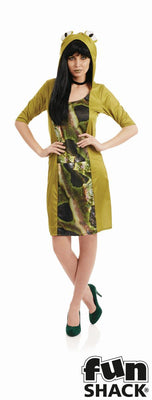 Lady Frog Women's Fancy Dress Costume