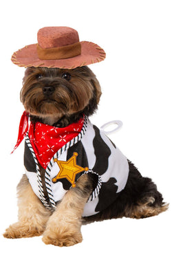 Woody Toy Story Dog Fancy Dress Costume Outfit Pet Dressup