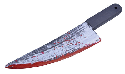 Knife. Blood Splattered