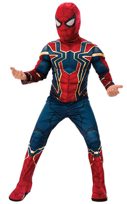 Iron Spider Engame Avengers 4Marvel DC comics Fancy Dress Boys Costume