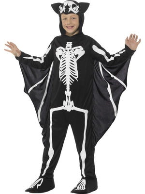 Bat Skeleton Boy's Fanncy Dress Costume