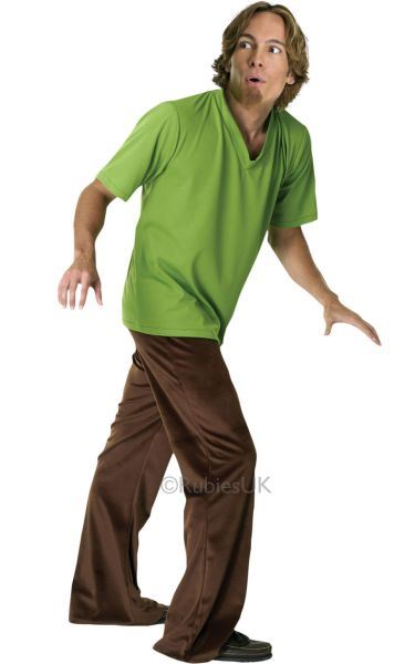 Shaggy Fancy Dress Costume