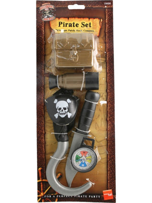 Pirate Set with Treasure Chest