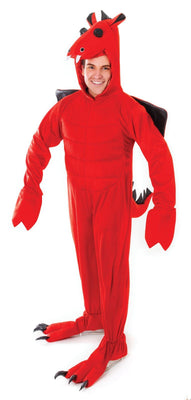 Adult Red Dragon Costume