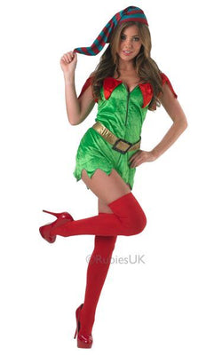 Elf Classic Sexy Fancy Dress Costume