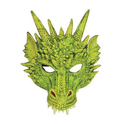Dragon Mask Green
