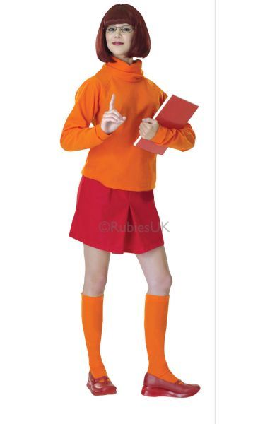 Velma Fancy Dress Costume