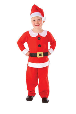 Boys Mr Santa Fancy Dress Costume