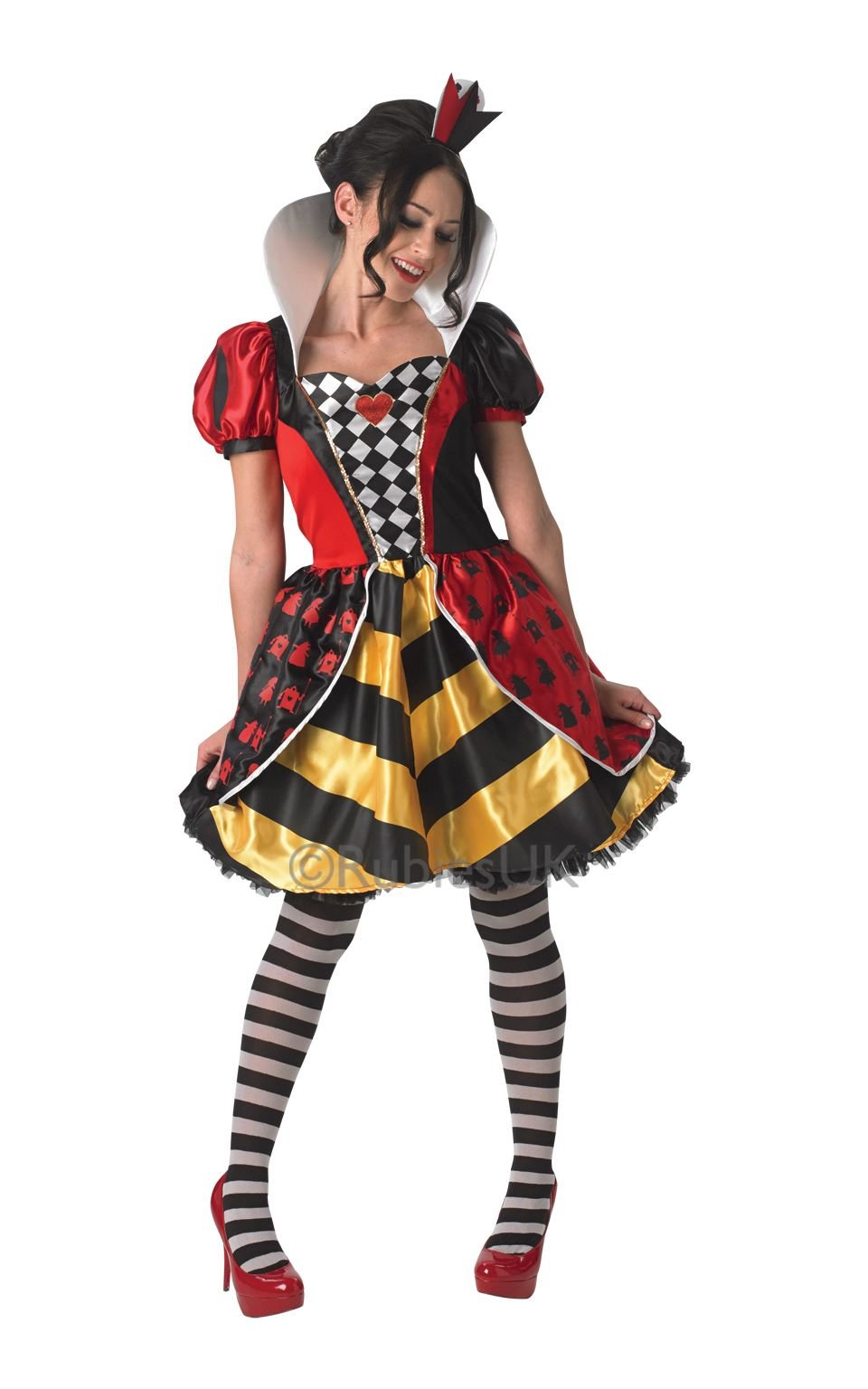 Womens Disney Alice in wonderland Red Queen costume