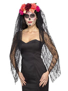 Deluxe Day of the Dead Headband