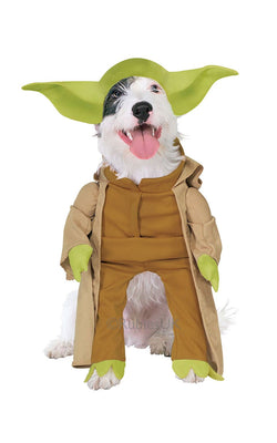 Yoda Dog Fancy Dress Costume