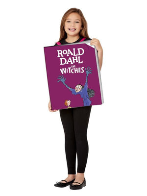 Roald Dahl The Witches Book Cover Costume, Pink