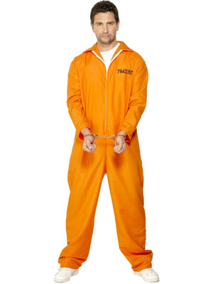 Escaped Prisoner Fancy Dress Costume