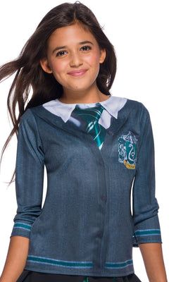 Slytherin Costume Top Kids