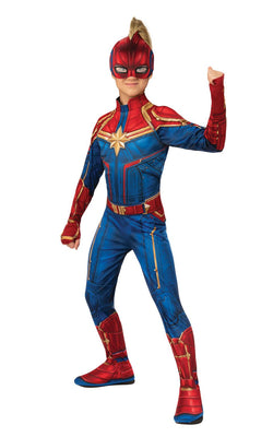 Captain Marvel Hero Girls Costume