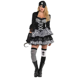 Dark Sea Maiden Fancy Dress Costume