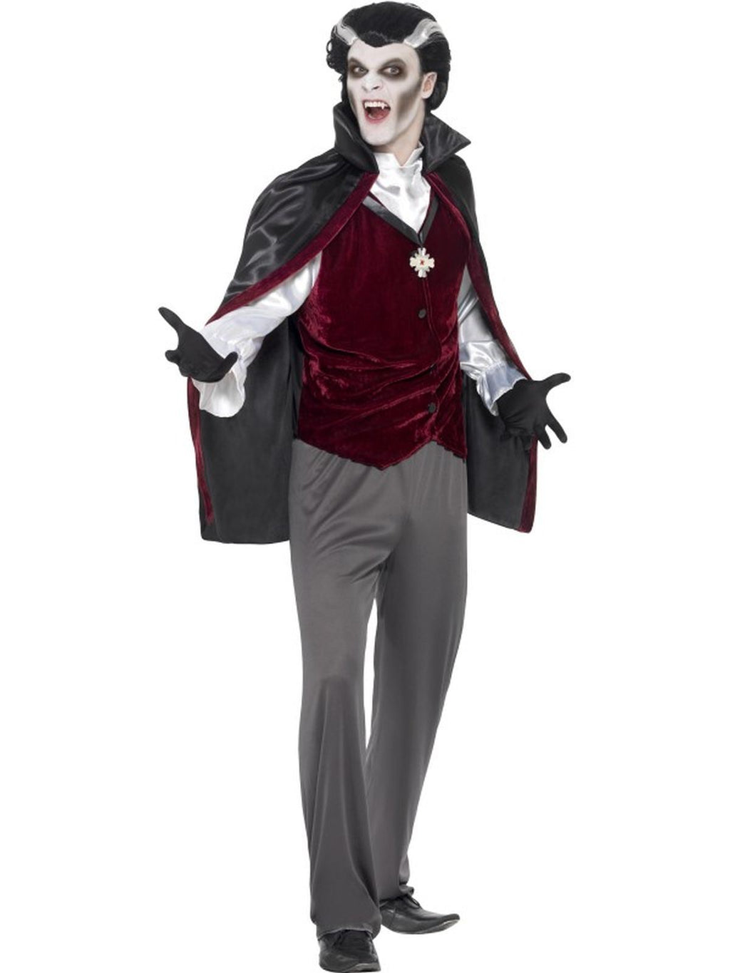 Men's Vampire Fancy Dress Costume