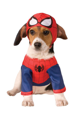 Spider Man Marvel Dog Costume