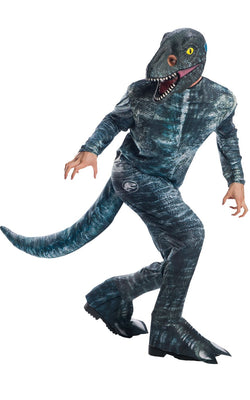 Velociraptor Blue Jurassic World Men's Costume