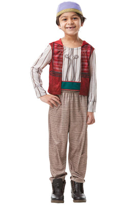 Aladdin Disney Boys Fancy Dress Costume Licensed Outfit