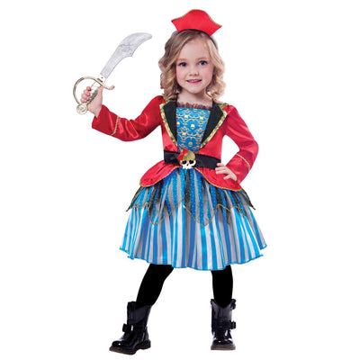 Anchor Cutie Girl's Fancy Dress Costume