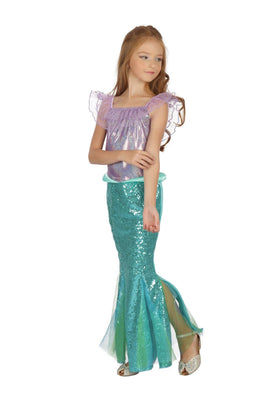 Mermaid Dress Girl's Costume