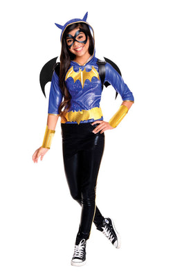 Girl's Deluxe DC Superhero Batgirl Fancy Dress Costume