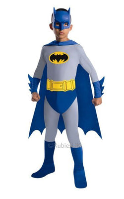 Boys Bold and Brave Batman Fancy Dress Costume