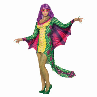 Dragon Dress + Eyemask Costume