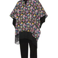 Day of the Dead Serape Men's Costume