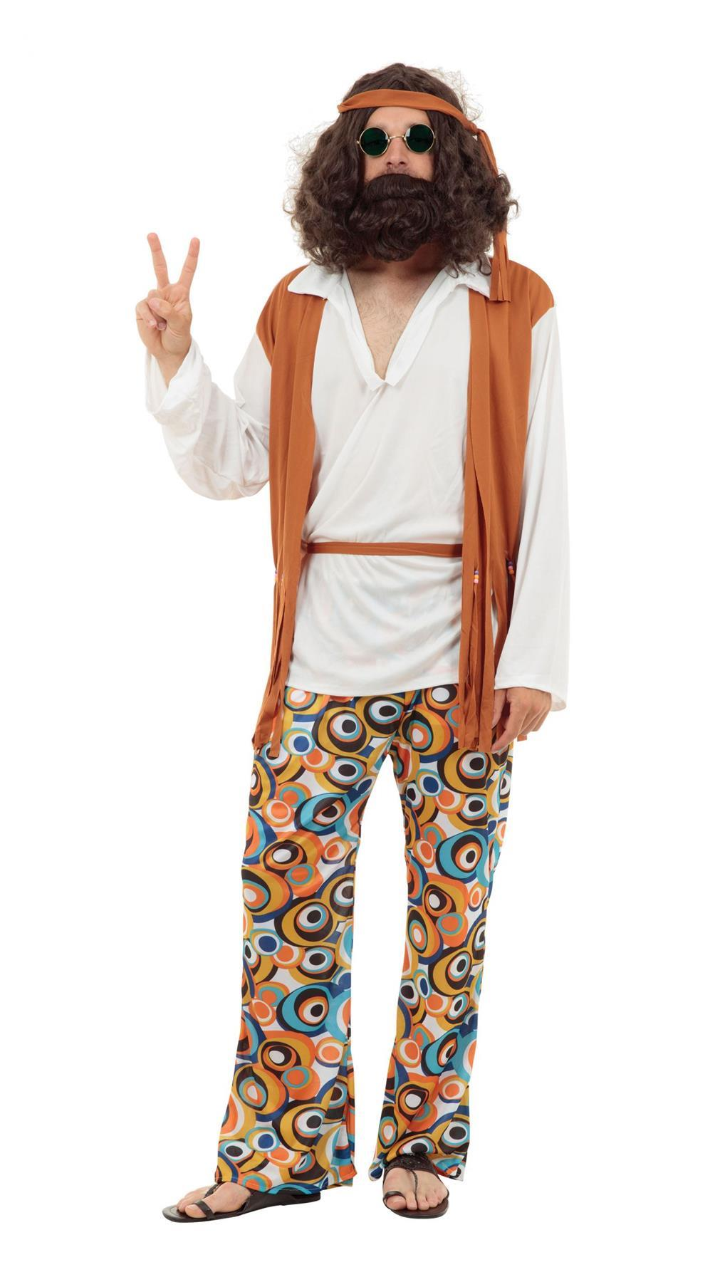 Adult Hippy Man Costume