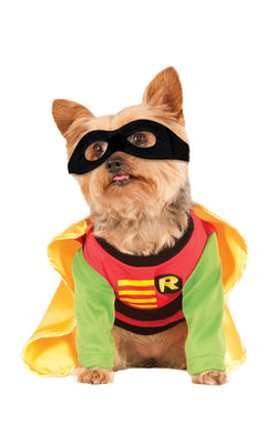 Robin Batman Marvel Dog Fancy Dress Costume Outfit
