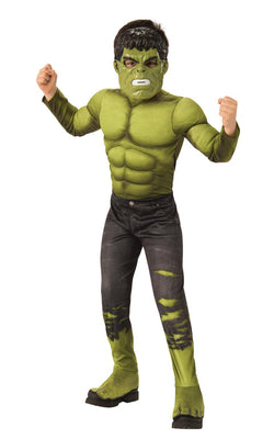 Hulk Engame Avengers 4Marvel DC comics Fancy Dress Boys Costume